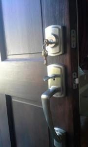 Baldwin Lock Handle Set!