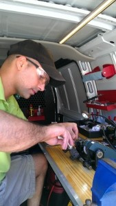 Our locksmith vans are fully equipped to answer 99% of emergency locksmith situations 24 hours a day.
