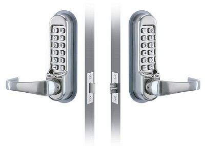 Commercial lever digital locks for your business by EaglesLocksmith.com