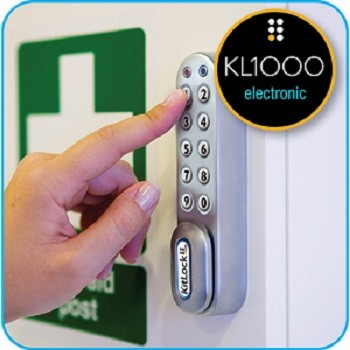 Electronic keypad locks for business installed by Eagleslocksmith.com