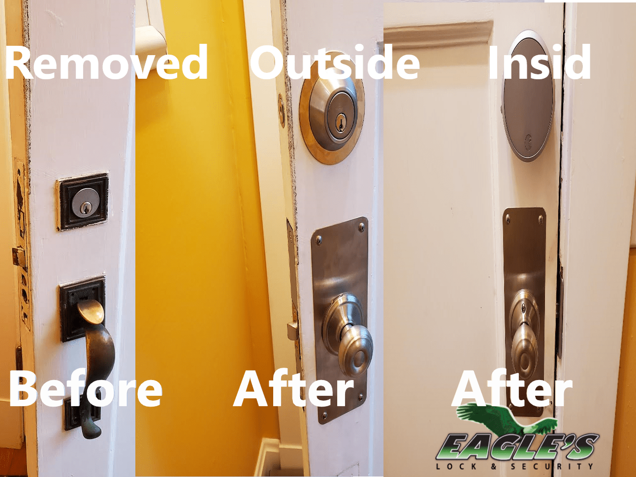Lock Replacement in Cincinnati, OH and Northern, KY provided by Eagle's Locksmith Cincinnati