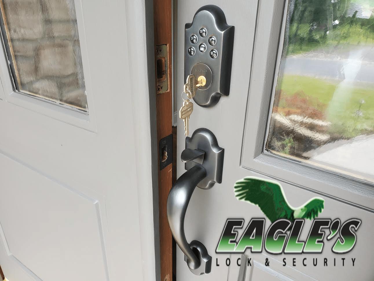 Baldwin Residential Keypad Lock Installation