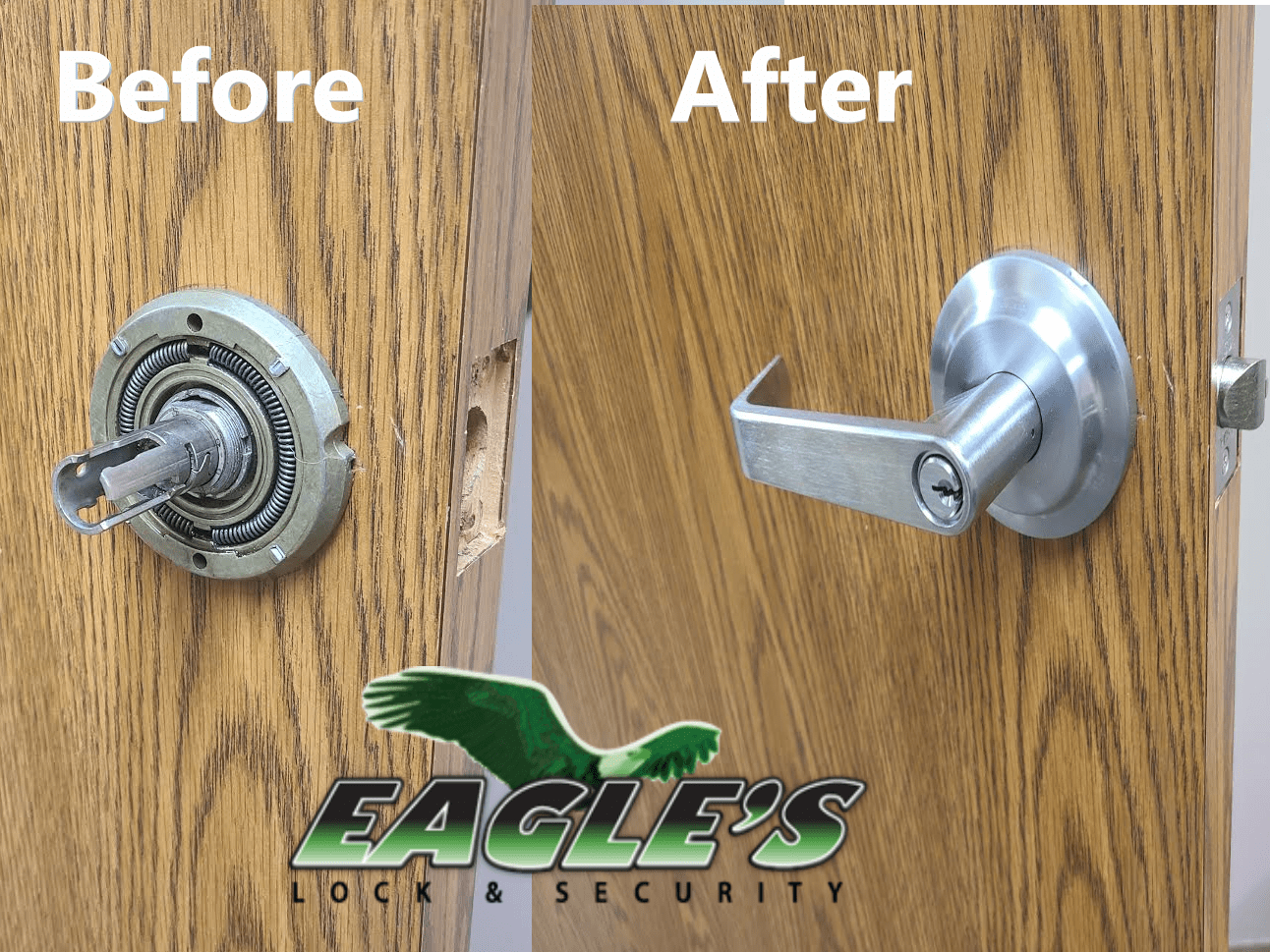 Locksmith For Business - Commercial Office Lever Lock Installation
