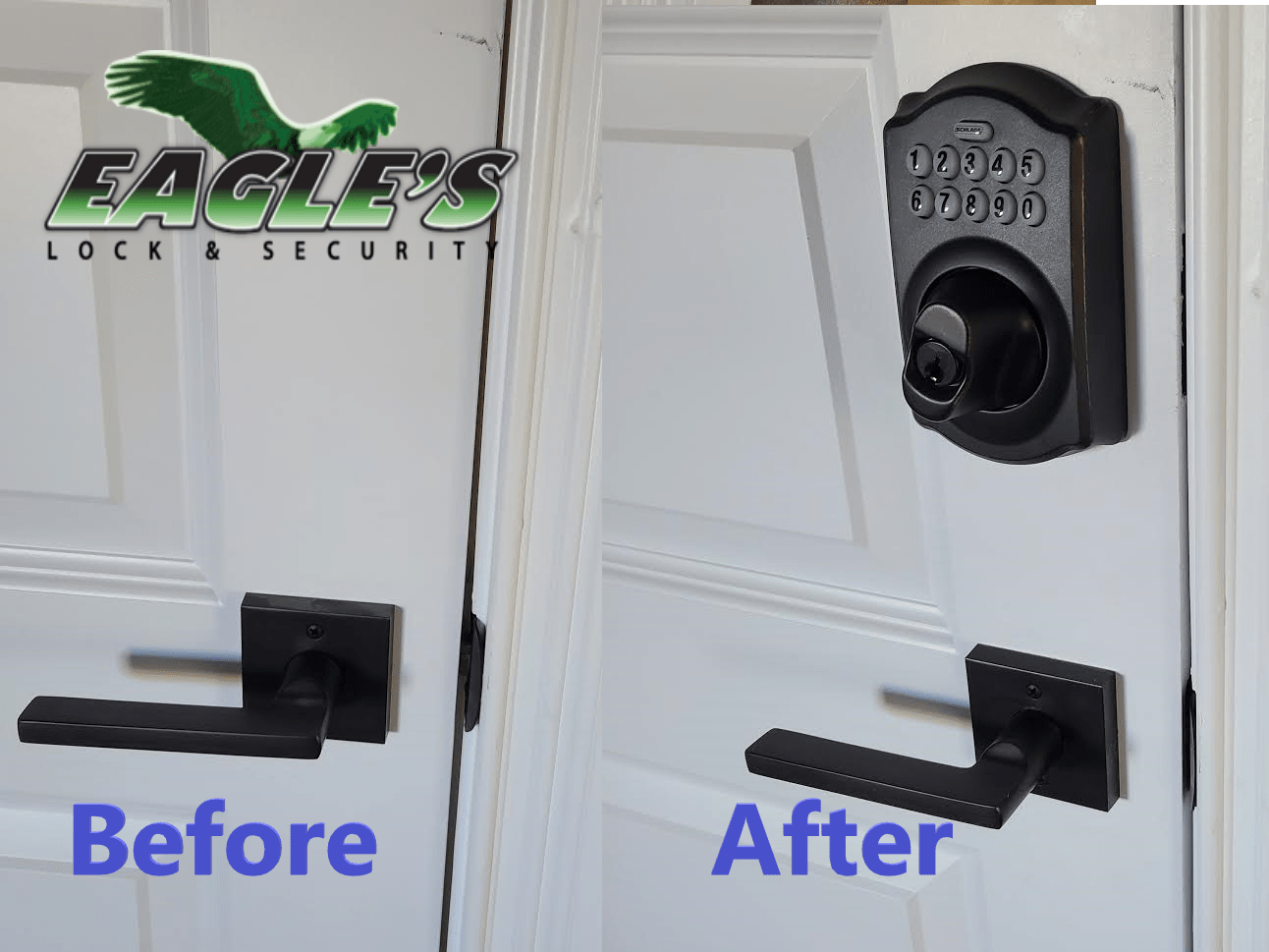 Office Keypad Door Lock Installation For Business
