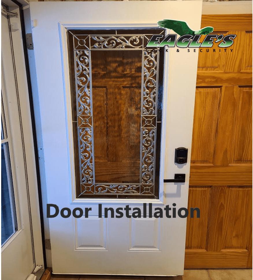 Residential Door Installation By Eagle's Locksmith Cincinnati